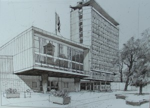 Civic Centre from the south east